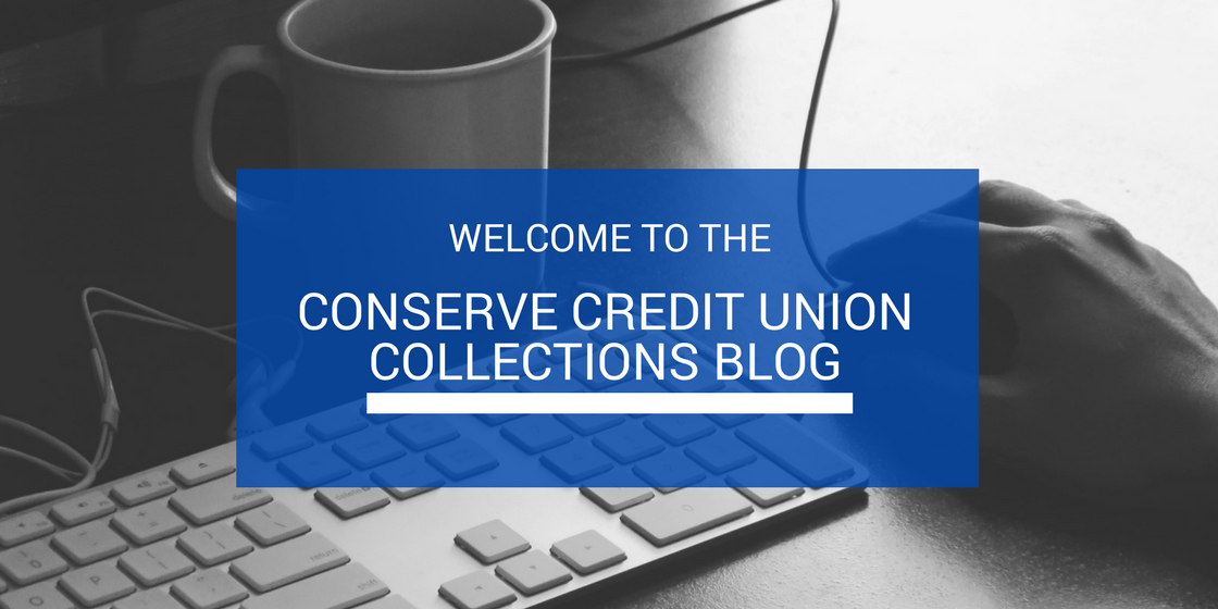 Welcome to the ConServe credit union collections blog